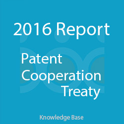 آمار اختراعات ثبت شده در معاهده همکاری ثبت اختراع 2016