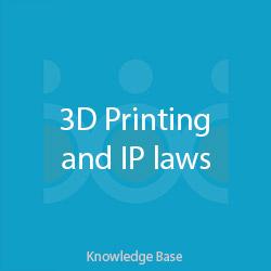 قوانین مالکیت فکری در چاپ سه بعدی