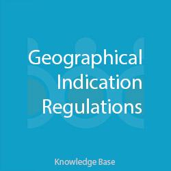 آئیننامه نشان های جغرافیایی