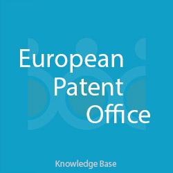 ثبت اختراع اتحادیه اروپا EPO