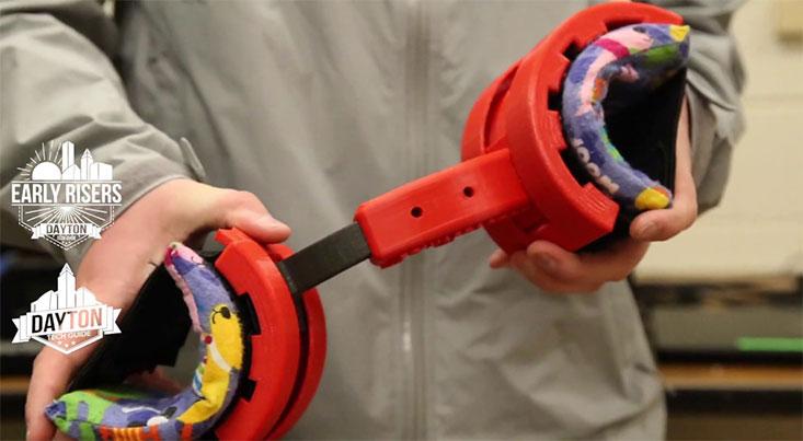 اختراع جوان آمریکایی برای کودکان مبتلا به فلج مغزی