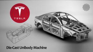 ساخت یکپارچه بدنه خودرو به روش ریختهگری دایکست