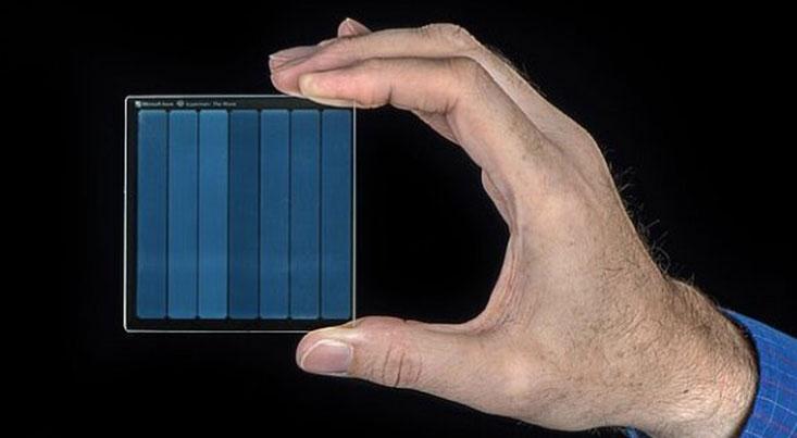 ذخیره فیلم روی شیشه