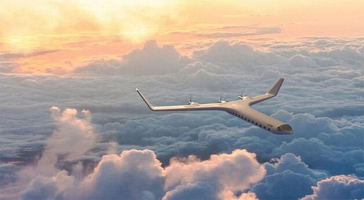 طرح مفهومی یک هواپیمای برقی بدون آلودگی