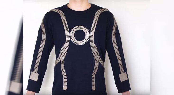 اتصال به بلوتوث و وایفای با لباس هوشمند