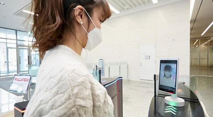 دستگاه کارت زنی کارکنان ادارات با هوش مصنوعی