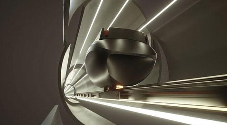 طرح تونل های مغناطیسی برای ارسال بسته های پستی