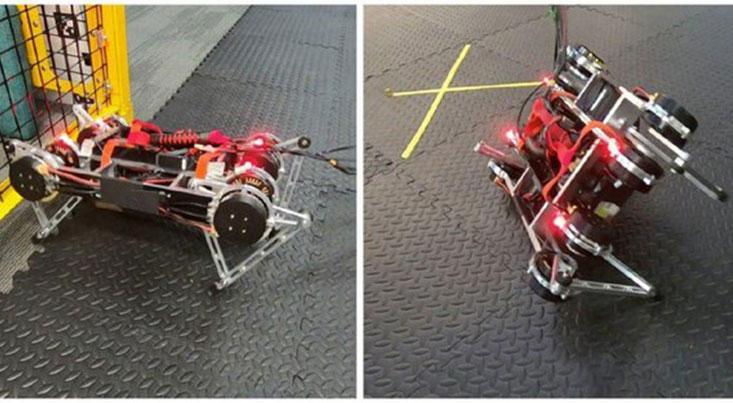 یادگیری راه رفتن ربات ها توسط خودشان
