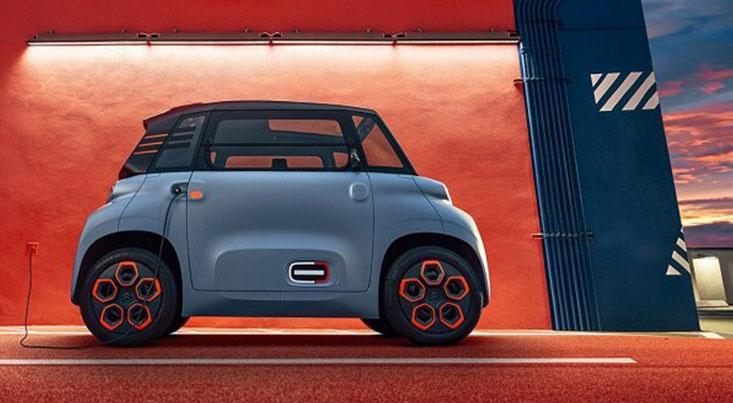 تولید خودروی برقی دو نفره سیتروئن