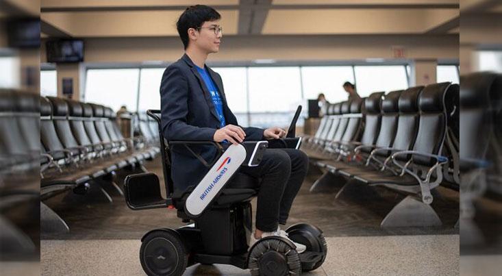 ویلچرهای برقی خودران در فرودگاهها