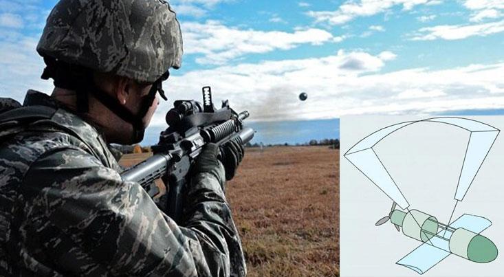 پهپادی که با اسلحه شلیک میشود