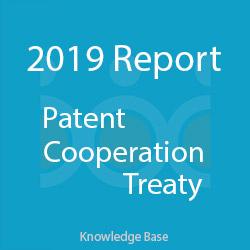 آمار معاهده همکاری ثبت اختراع PCT در 2019
