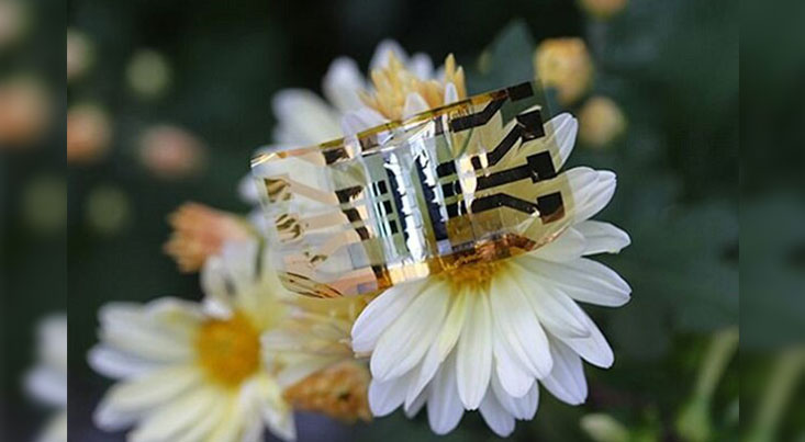 سلول خورشیدی فوق سبک