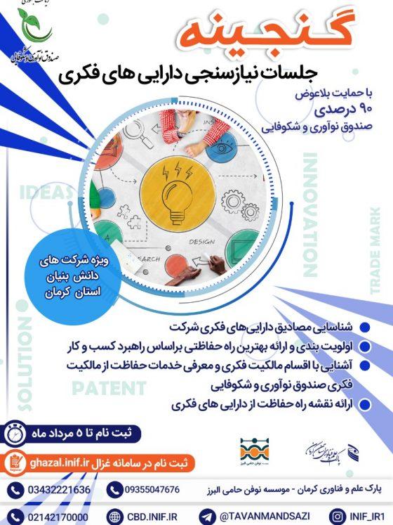 نیاز سنجی دارایی فکری استان کرمان