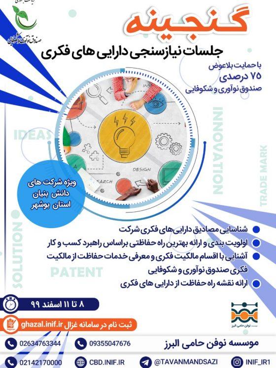 نیاز سنجی دارایی فکری استان بوشهر
