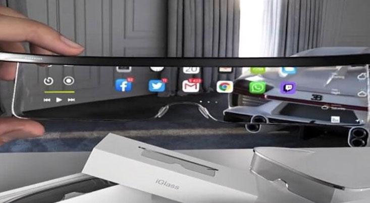 اپل ویدئوی طرح اولیه از عینک واقعیت افزوده را منتشر شد